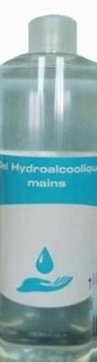 gel hydroalcoolique désinfection mains - Gel Hydro-Alcoolique Tetra médical France : 2 x 500 ML